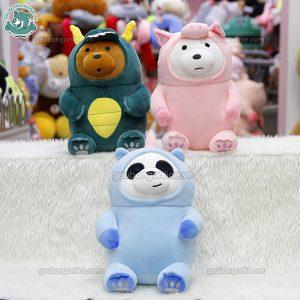 Bộ Ba Gấu Cosplay Bông