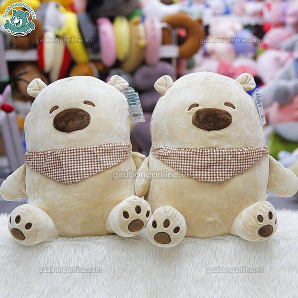 Gấu Bắc Cực Mũi To Ngồi