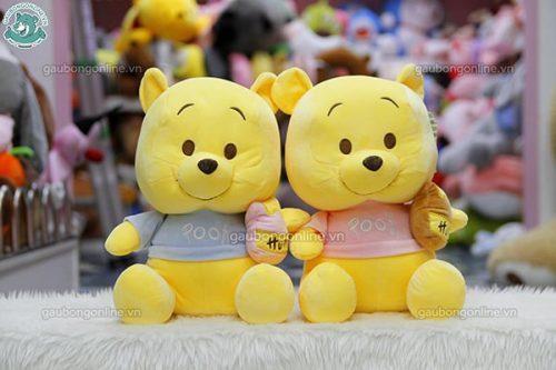 Gấu Pooh Ngồi Mềm