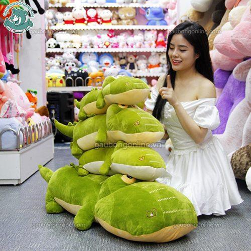 Cá Sấu Mềm Bông