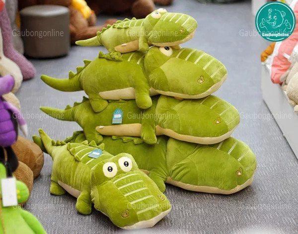 Gấu bông cá sấu