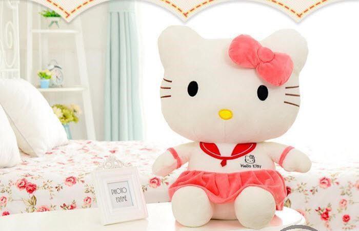 gấu bông Hello Kitty