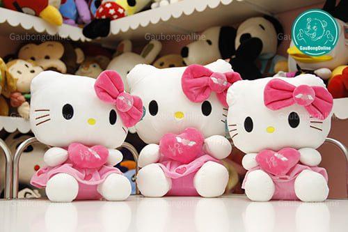 Gấu bông Hello Kitty thiên thần