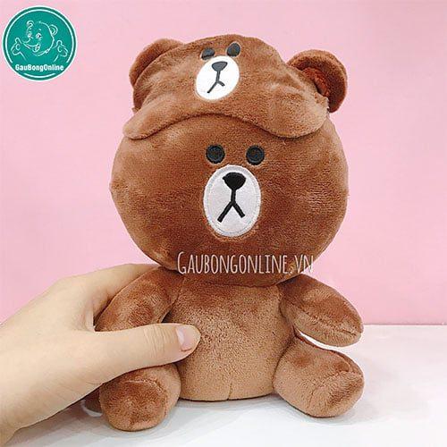 Gấu Brown bịt mặt
