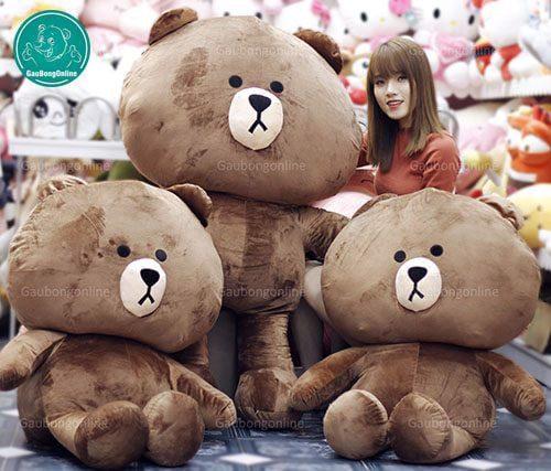 gấu Brown đại 1m2