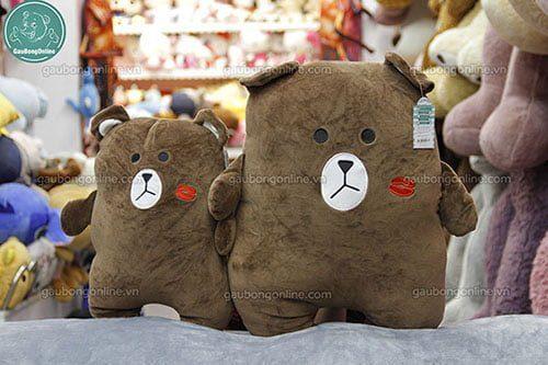 Gấu Brown thú vuông