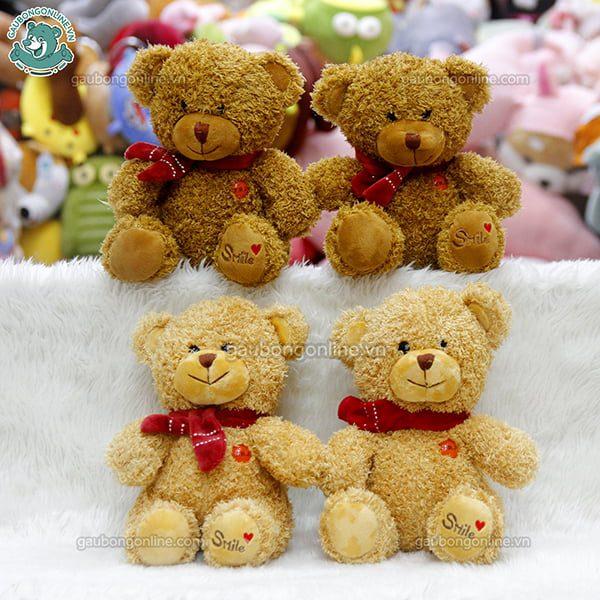 Gấu Bông Teddy Khăn Smile