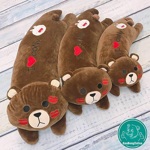 Gối gấu Brown