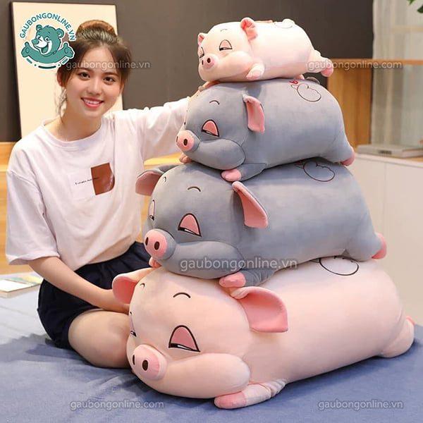 lợn bông ngủ
