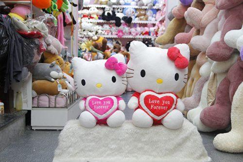 Gấu Bông Kitty Ôm Tim Love