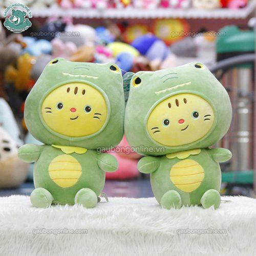 Mèo Bông Cosplay Khủng Long
