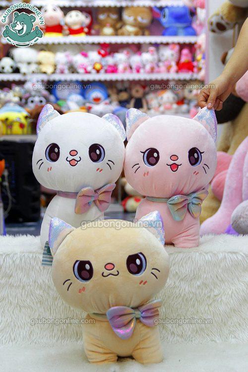 Mèo Bông Mắt To Ngồi