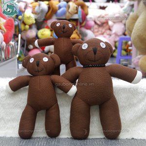 Gấu Teddy Mr Bean len