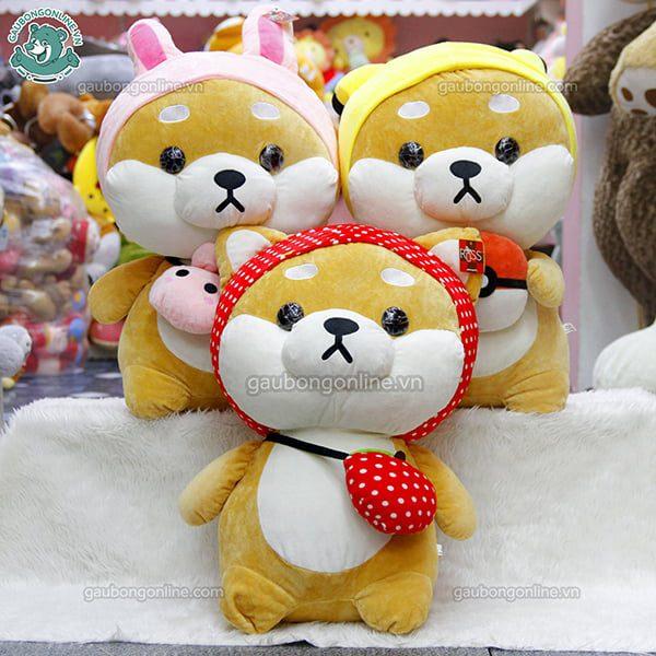 Chó Bông Shiba Cosplay Đại