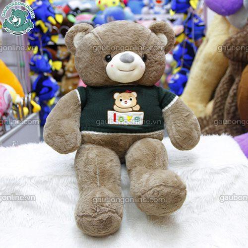Gấu Bông Teddy Áo Len Gấu Love