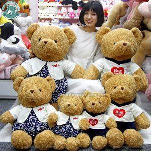 Gấu Bông Teddy Hug Đôi