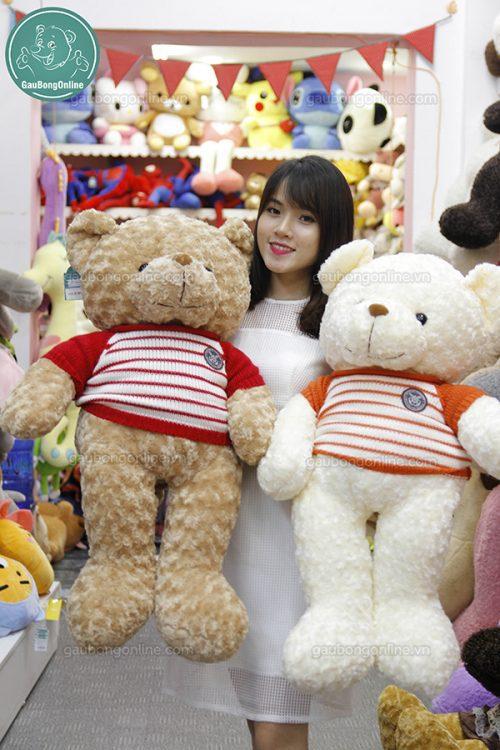 Gấu Bông Teddy Áo Len Gấu