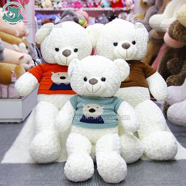 Gấu Bông Teddy Lông Xoắn Winter