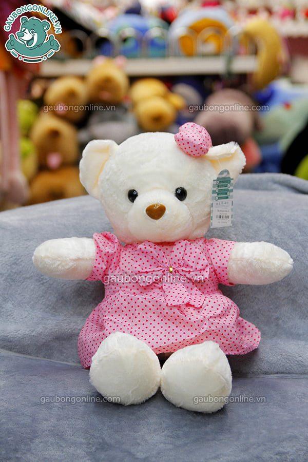 Gấu Bông Teddy Váy Hoa Nhỏ