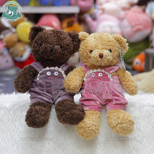 Gấu Teddy nhỏ Head & Tales mặc yếm