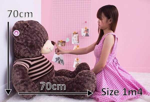 cách đo kích thước gấu bông 1m5
