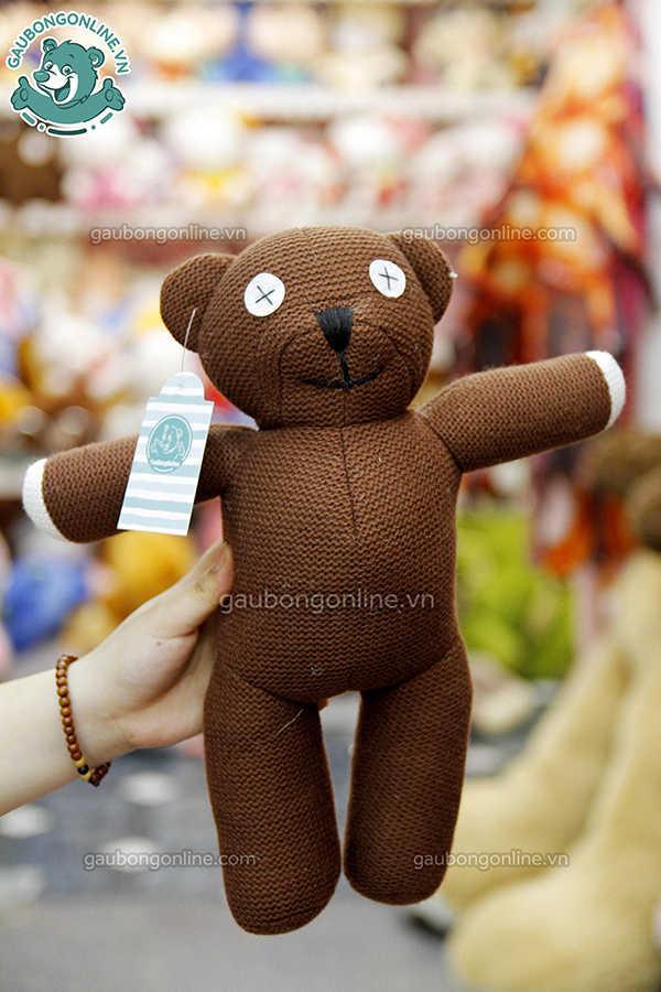 gấu teddy nâu