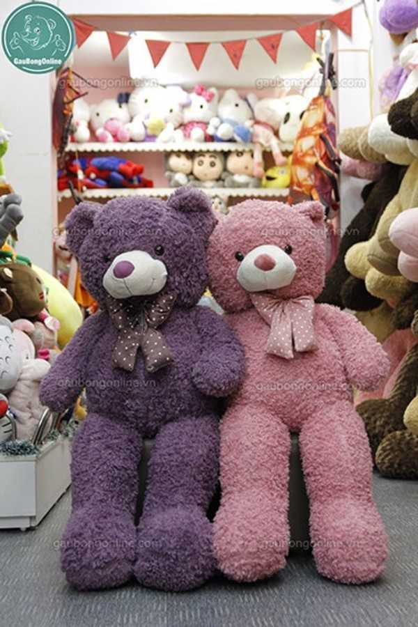 gấu bông 1m5 teddy xù