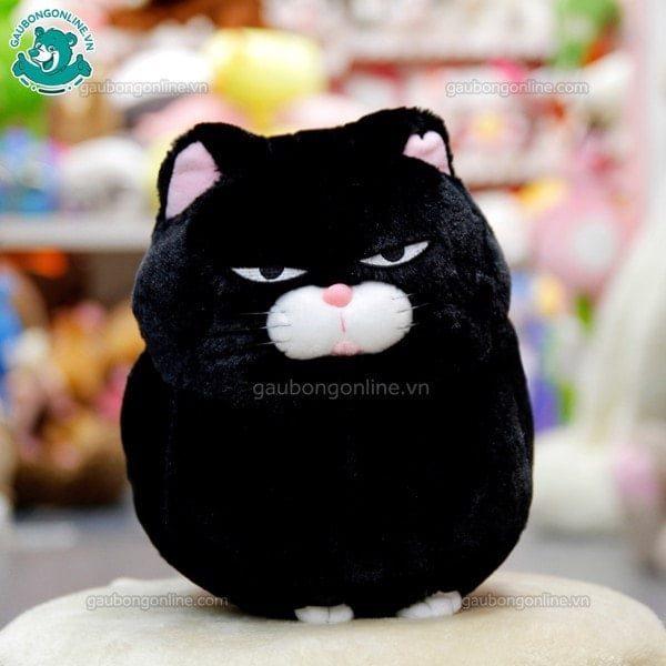 Mèo bông Amuse đen