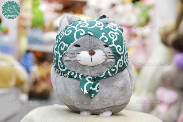 Mèo bông Amuse xám