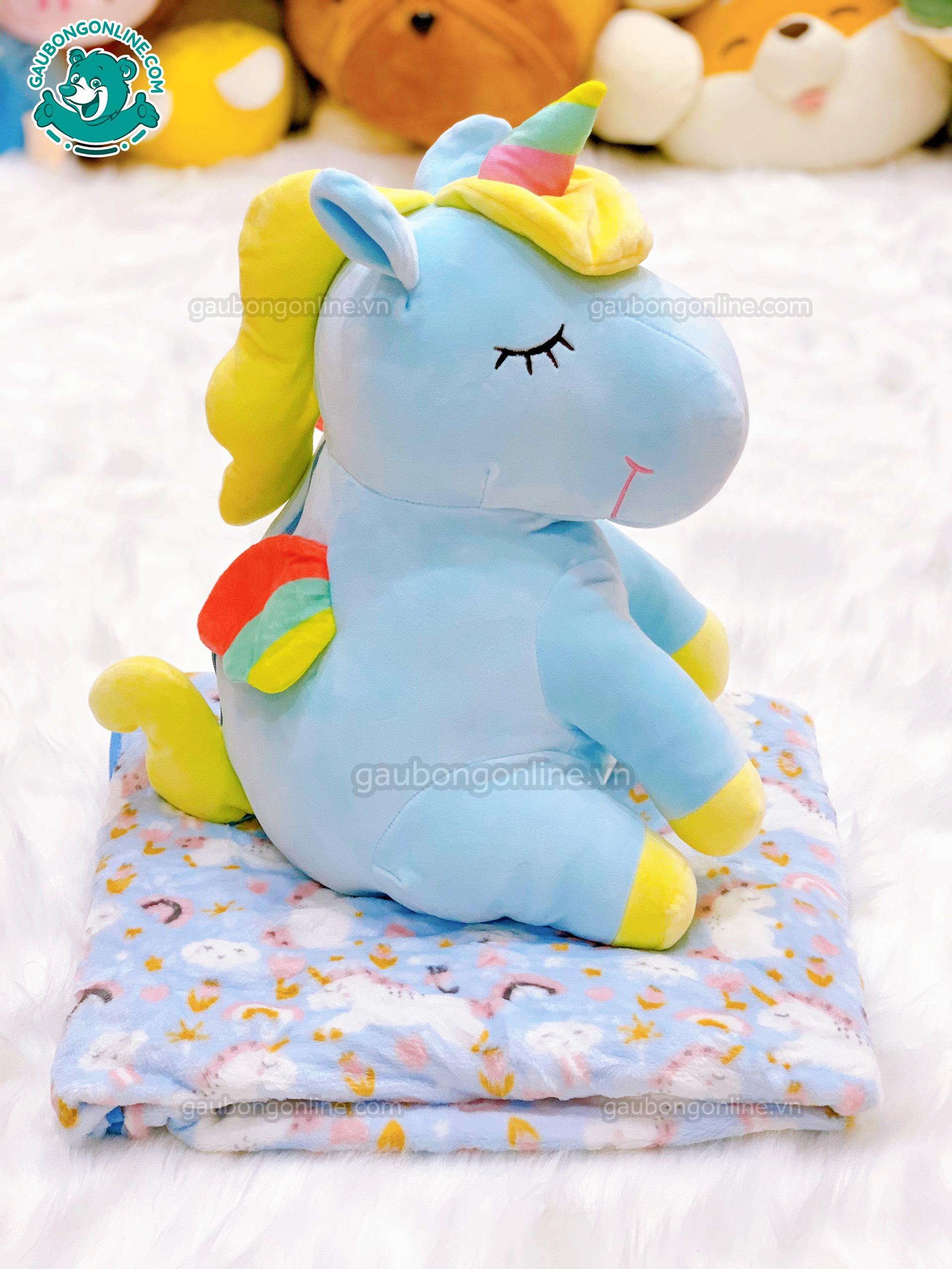 Gối Mền - Unicorn Ngồi
