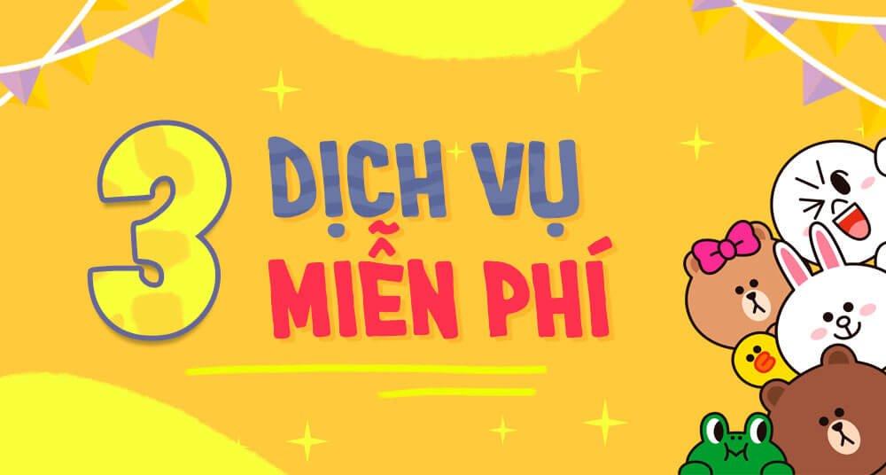 Banner 3 Dịch Vụ Miễn Phí