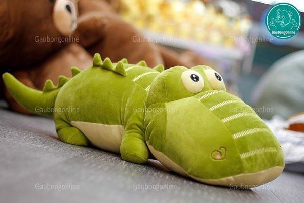 Thú nhồi bông cá sấu