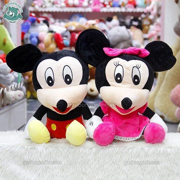 Chuột Mickey ngồi