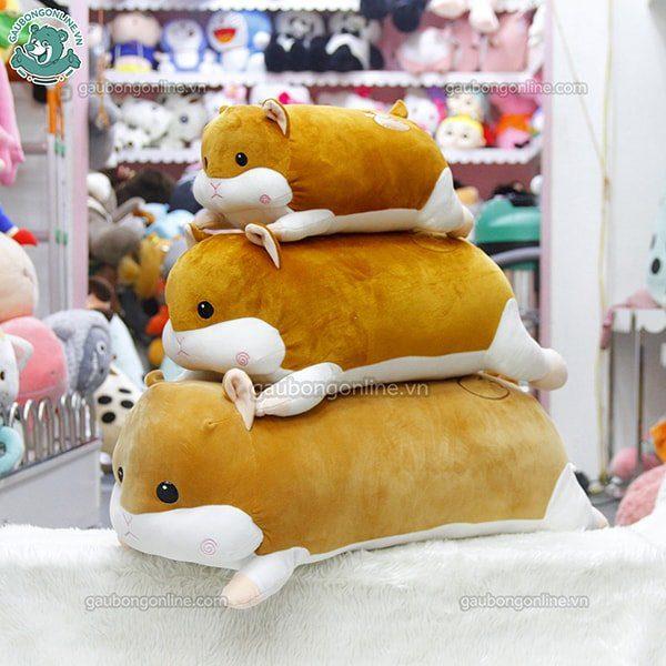 Gối ôm gấu bông chuột Hamster
