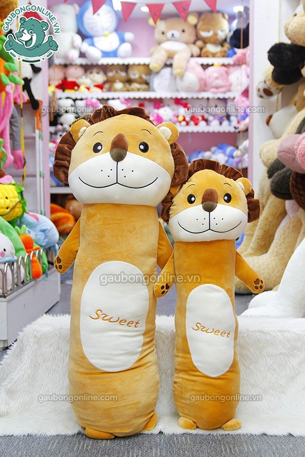 Gối ôm Sweet sư tử vàng