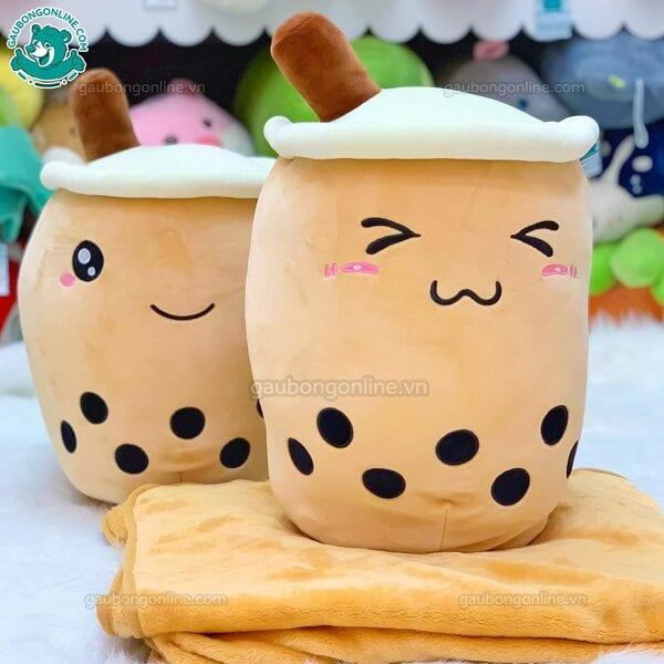gối mền trà sữa
