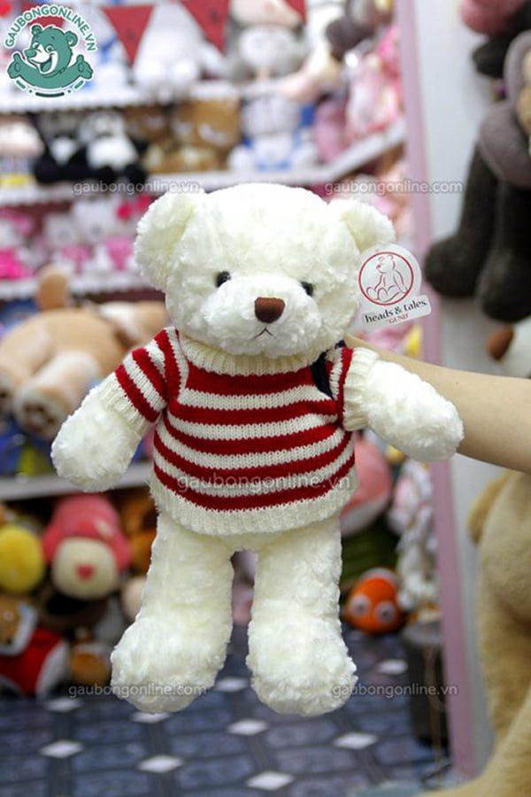 Gấu Bông Teddy Len Cờ Mỹ