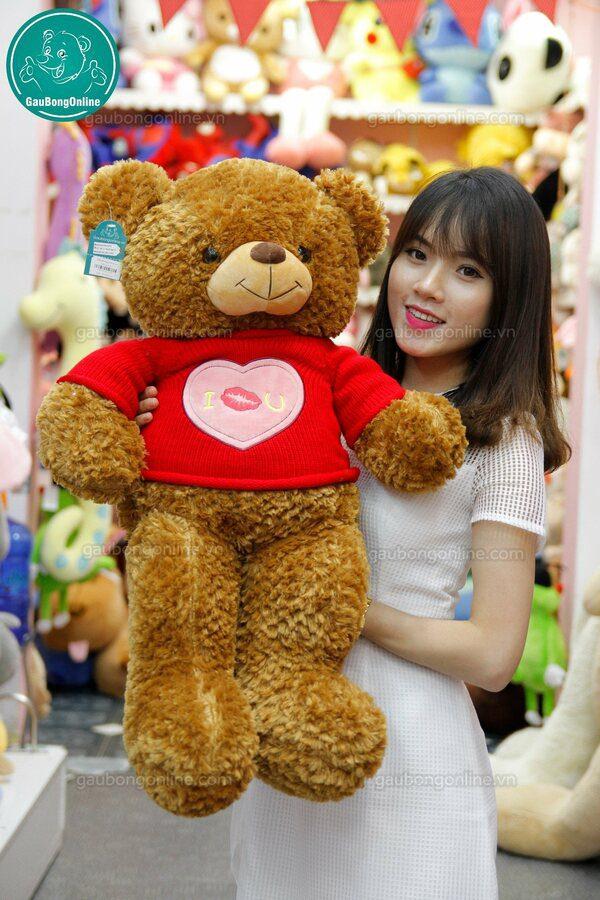 Gấu bông Teddy Áo Tim