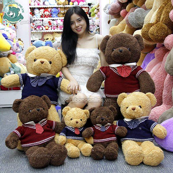Gấu Bông Teddy Cà Vạt 50cm
