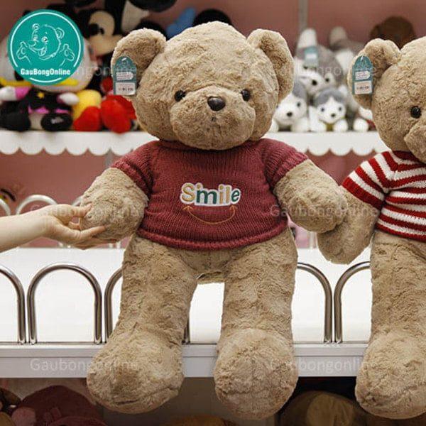 Gấu Teddy áo len Smile