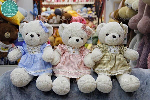 Gấu bông Teddy 50cm váy công chúa