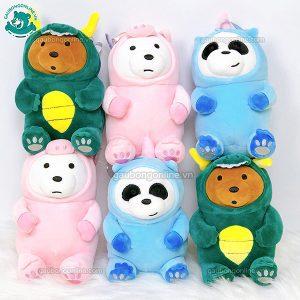 Bộ Ba Gấu Cosplay Bông Nhỏ