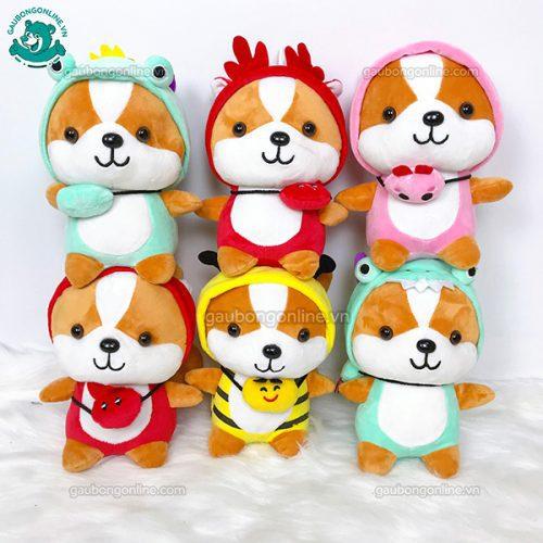 Chó Bông Shiba Cosplay Nhỏ