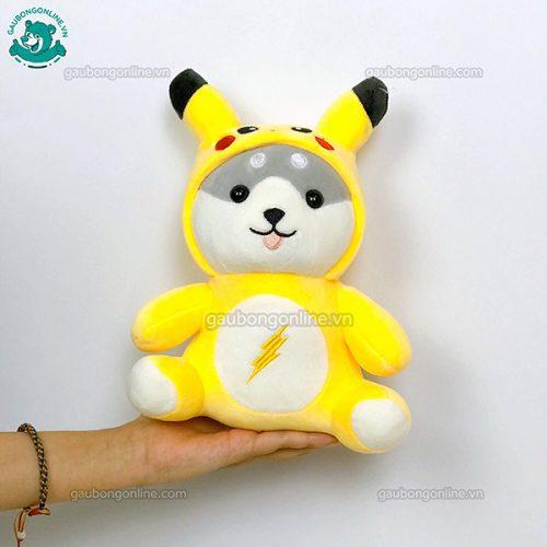 Chó Bông Shiba Cosplay Ngồi