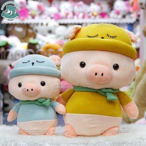 Lợn Bông Mũ Khăn