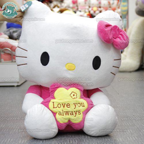 Kitty Ôm Hoa