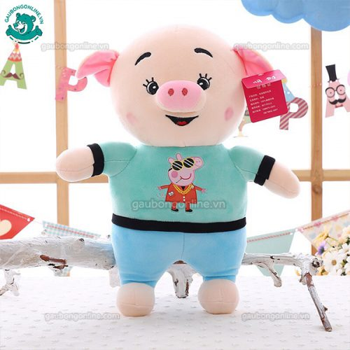 Lợn Áo Peppa Bông