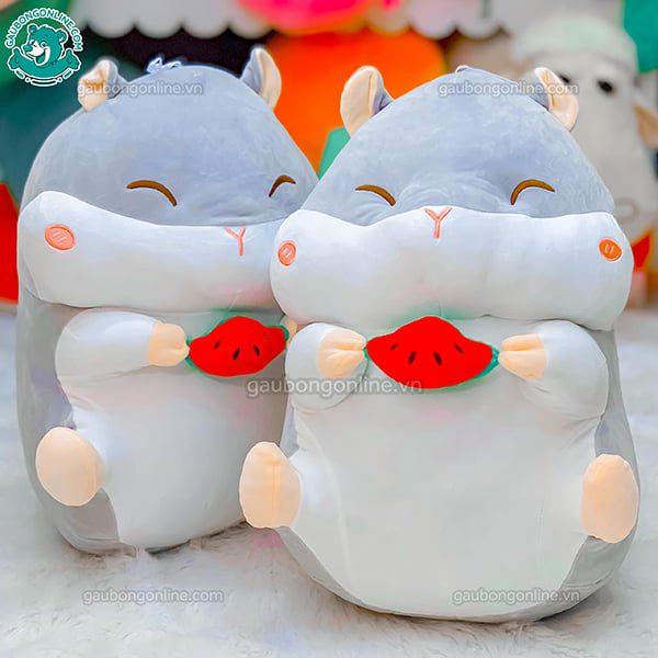 Chuột Bông Hamster Ôm Quả