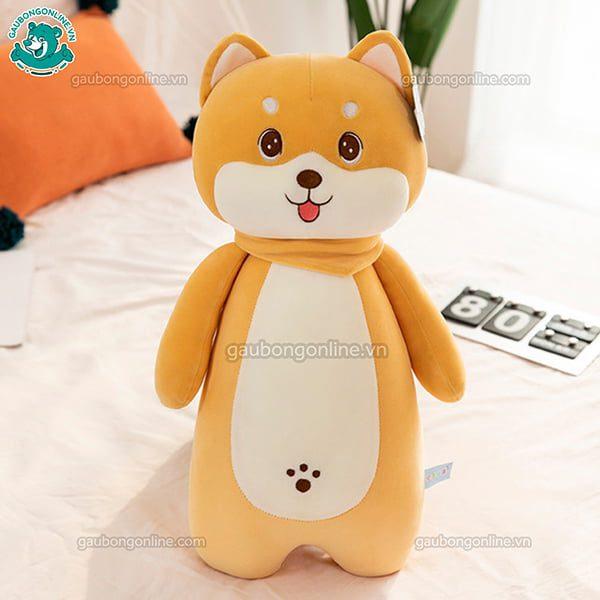 Chó Bông Shiba Khăn