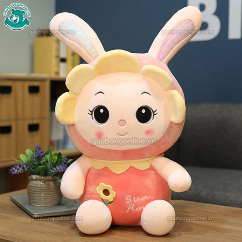 Thỏ Bông Hoa Hướng Dương